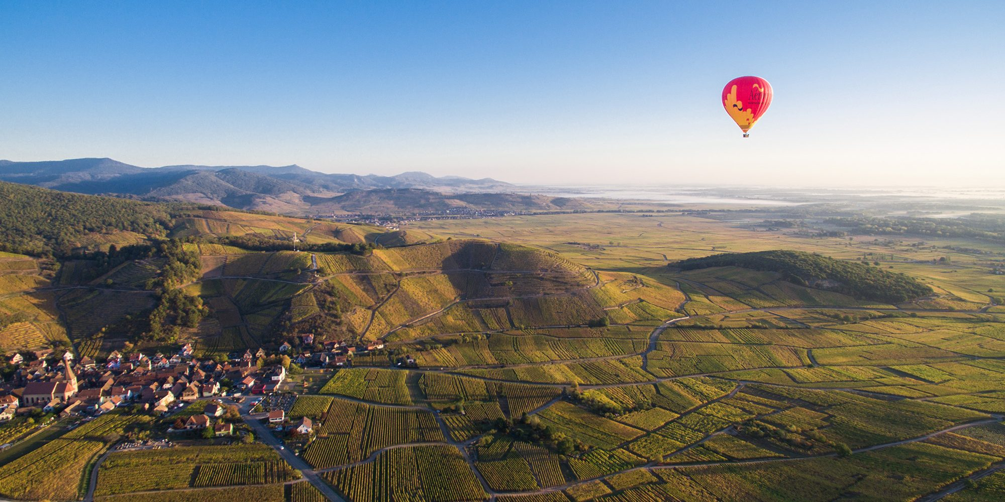 order hot air balloon flight alsace