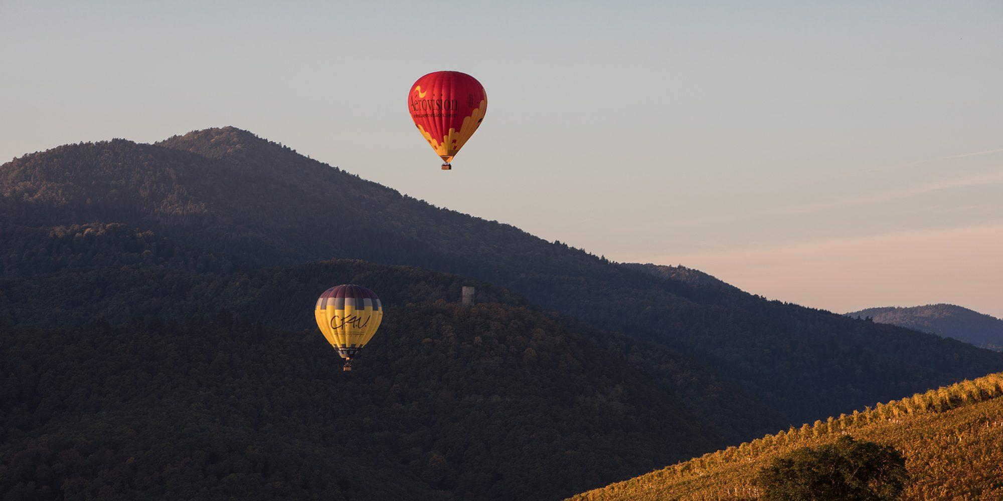 vol découverte montgolfière alsace